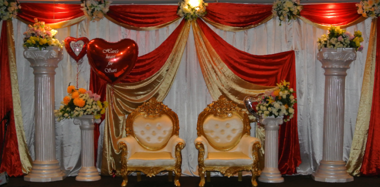 Stage decor melbourne wedding decorations royal events stage decor junglespirit Gallery